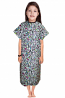 Children Printed Patient Gown Half Sleeve Back Open, Tie-able from Two Points Chest 33 Inches Length 26 Inches And Chest 41 Inches Length 35 Inches (Available in Multiple Prints)