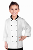 Children's / kids Chef Coat With 1 Chest pocket and 1 Sleeve Pocket Full Sleeve in poplin fabric