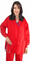 Scrub Jacket 2 pocket solid unisex full sleeve with rib and snap button