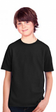 Kids Round neck solid t-shirt 100 perc cotton