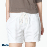 Poplin fabric short with 2 side pocket 1 back pocket (inseam is 5 inches)