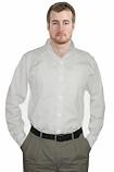 Unisex full sleeve twill shirt in 1 chest pocket