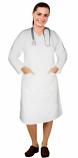 V neck full sleeve nursing dress with 2 front pockets knee length