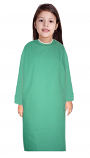 Children Patient Gown Full Sleeve with Matching piping Back Open, Tie-able from Two Points Chest 33 Inches Length 26 Inches And Chest 41 Inches Length 35 Inches (Available in 37 Color)