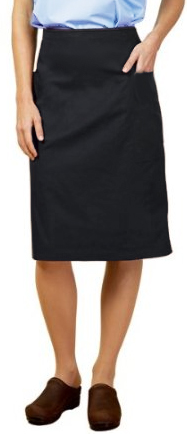 Stretchable Cargo pockets ladies skirt in 35% Cotton 63% Polyester 2% Spandex