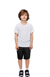 Children's / kids Bermuda with 2 side pocket 1 back pocket in Poplin Fabric