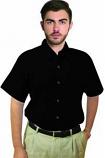 Unisex microfiber half sleeve shirt